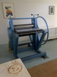 Printmaking press - Waterfall Way Studio